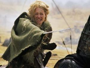 Eowyn+in+battle